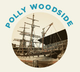 Launched in 1885, Polly Woodside is an iron barque built in Belfast. She first came to Australia in the early 1900s.