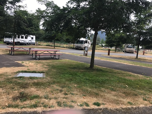 Designated camping/RV spots are available for purchase directly from the venue -Enumclaw Expo Center -  (360) 615-5631