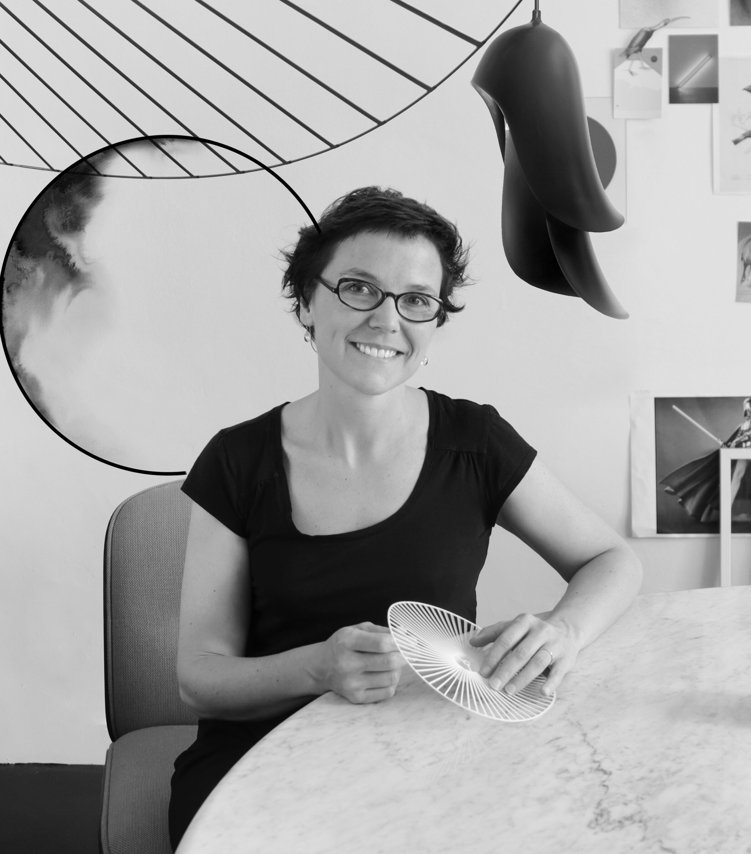 / Constance Guisset Studio   Constance Guisset est une designer française. Elle a fondé son studio spécialisé en design d'objets, architecture intérieure et scénographie en 2009. Elle s'attache à créer des objets ergonomiques et légers, animés et accueillants, émanant d'un désir de mouvement, de délicatesse et de surprise.  Elle conçoit aussi des scénographies de spectacles et d'expositions, ainsi que des projets d'architecture intérieure et des livres jeunesse.  Une exposition personnelle lui a été consacrée au Musée des Arts Décoratifs en 2018.     www.constanceguisset.com