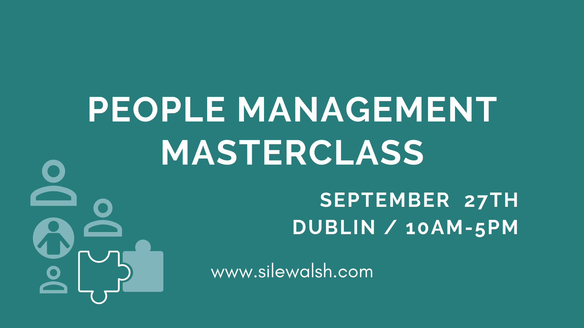 People Management Masterclass Dublin