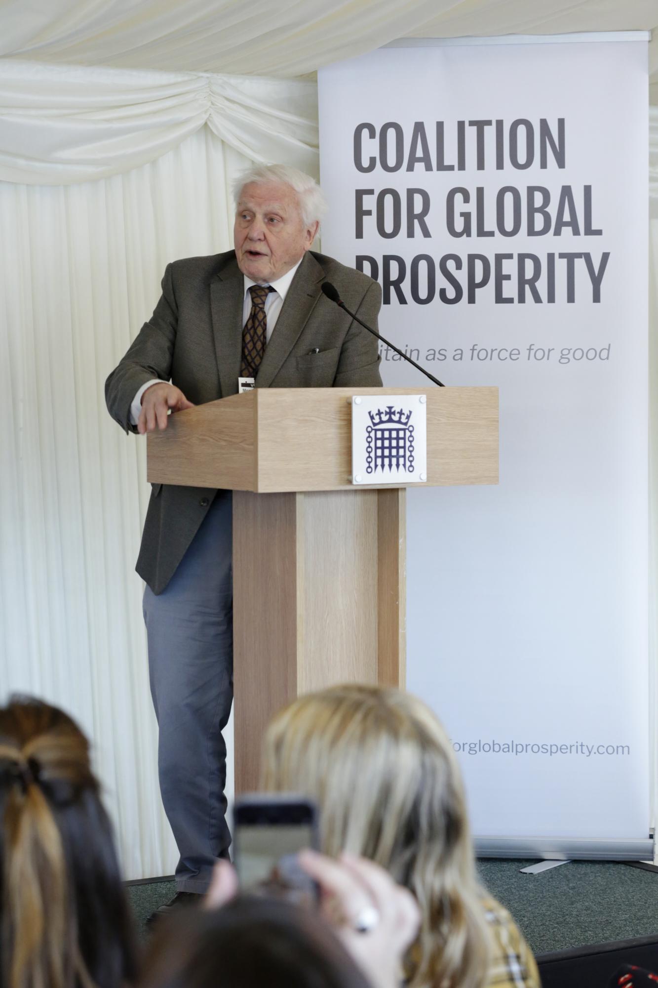 David Attenborough Speech