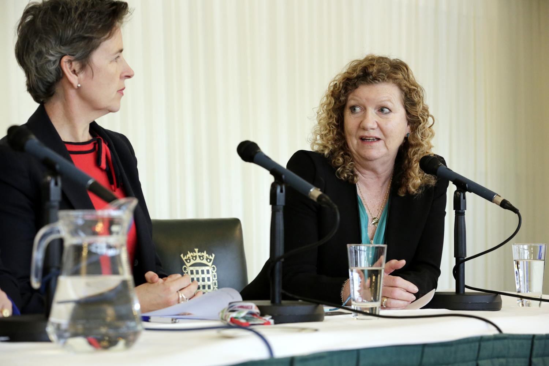 Mary Creagh MP and Jo Ruxton