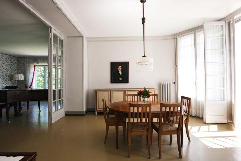 Intérieur de la Maison Blanche réalisée par Le Corbusier