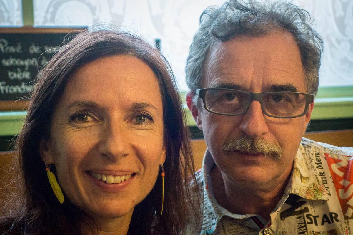 Valérie Dentan, assistante des Dicodeurs, et Daniel Rausis