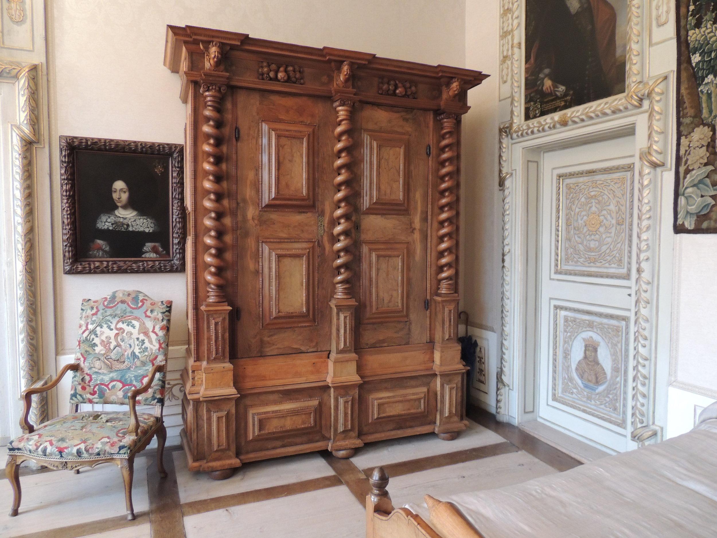 Mobilier du château de Waldegg