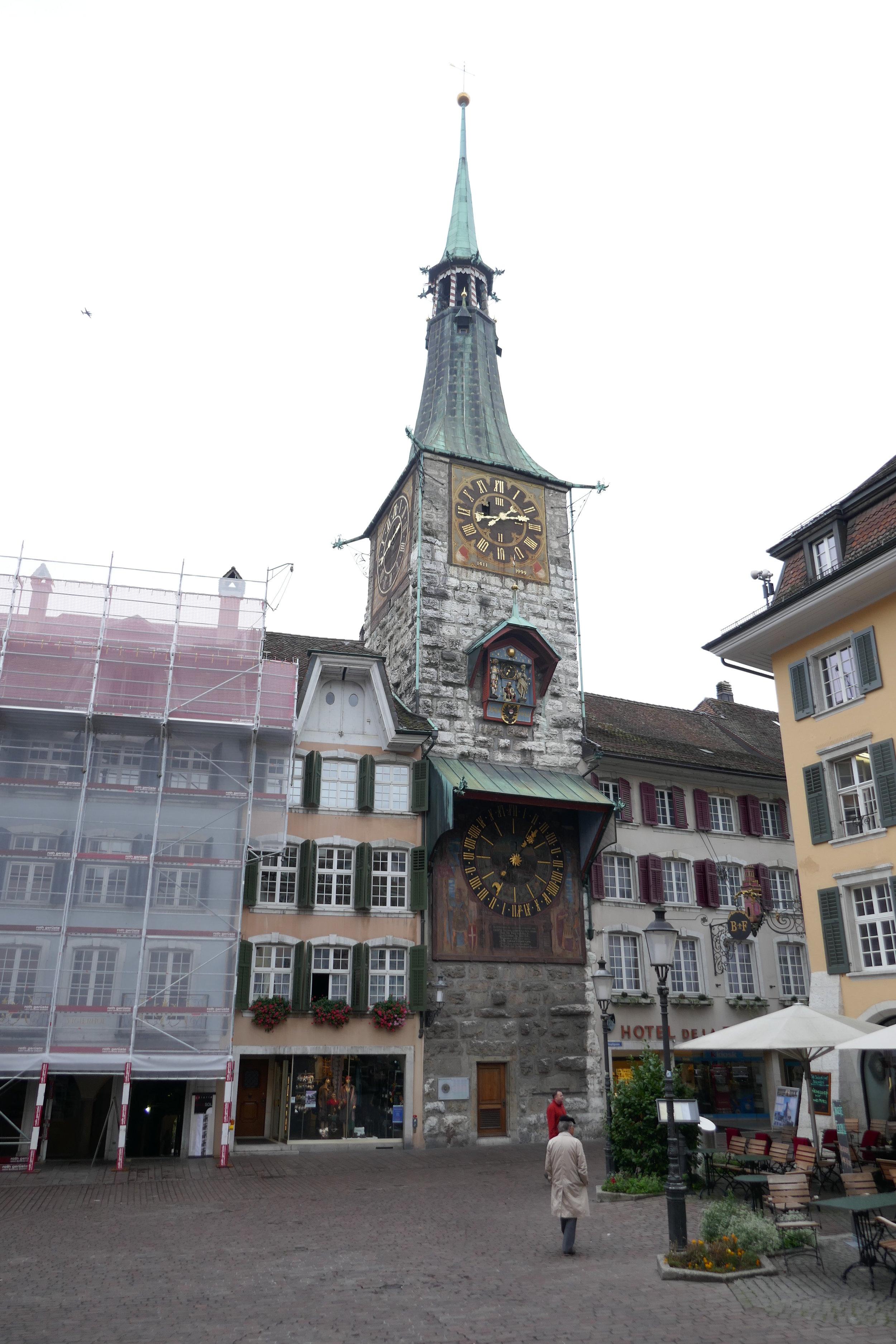 La Tour de l'Horloge,construite en 1545