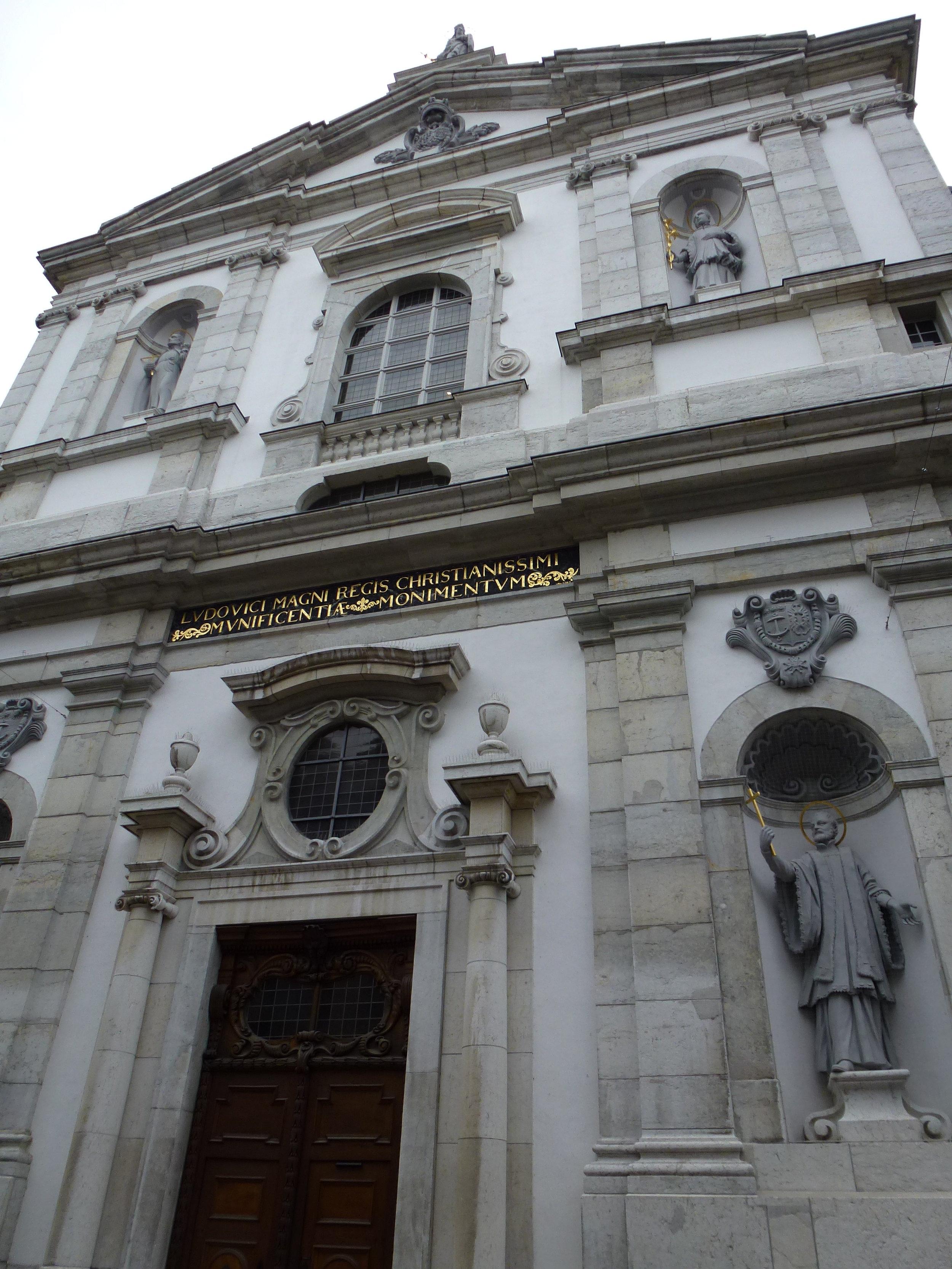 L'église des Jésuites, construite entre 1680 et 1689