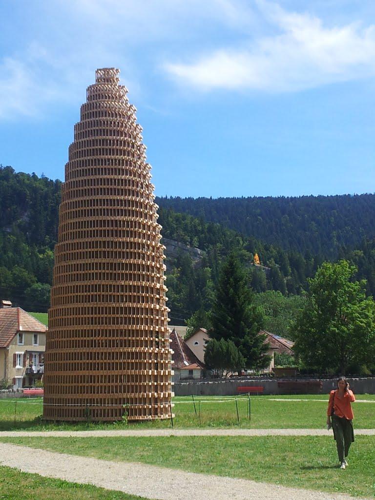La très belle Tour de Babel de François Burland