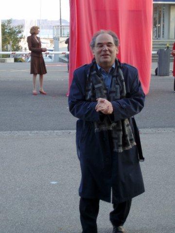 Discours de Walter Tschopp lors de la remise au MahN de la statue de Günther Förg (cf. page soutiens et dons)
