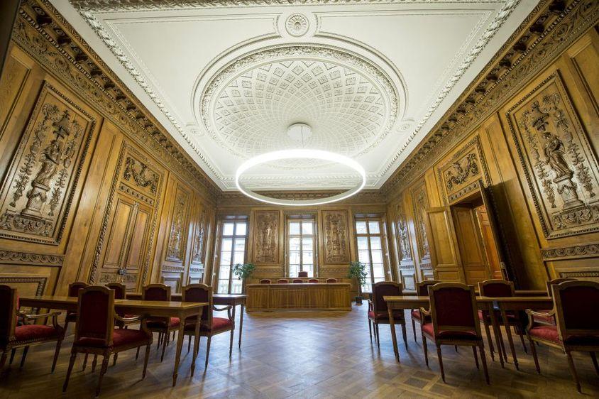 La salle du conseil général