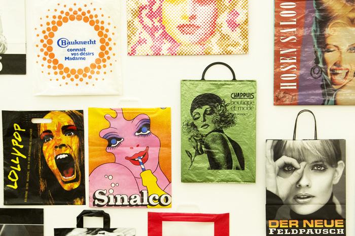Vue du secteur de l'exposition « La femme dans la publicité »