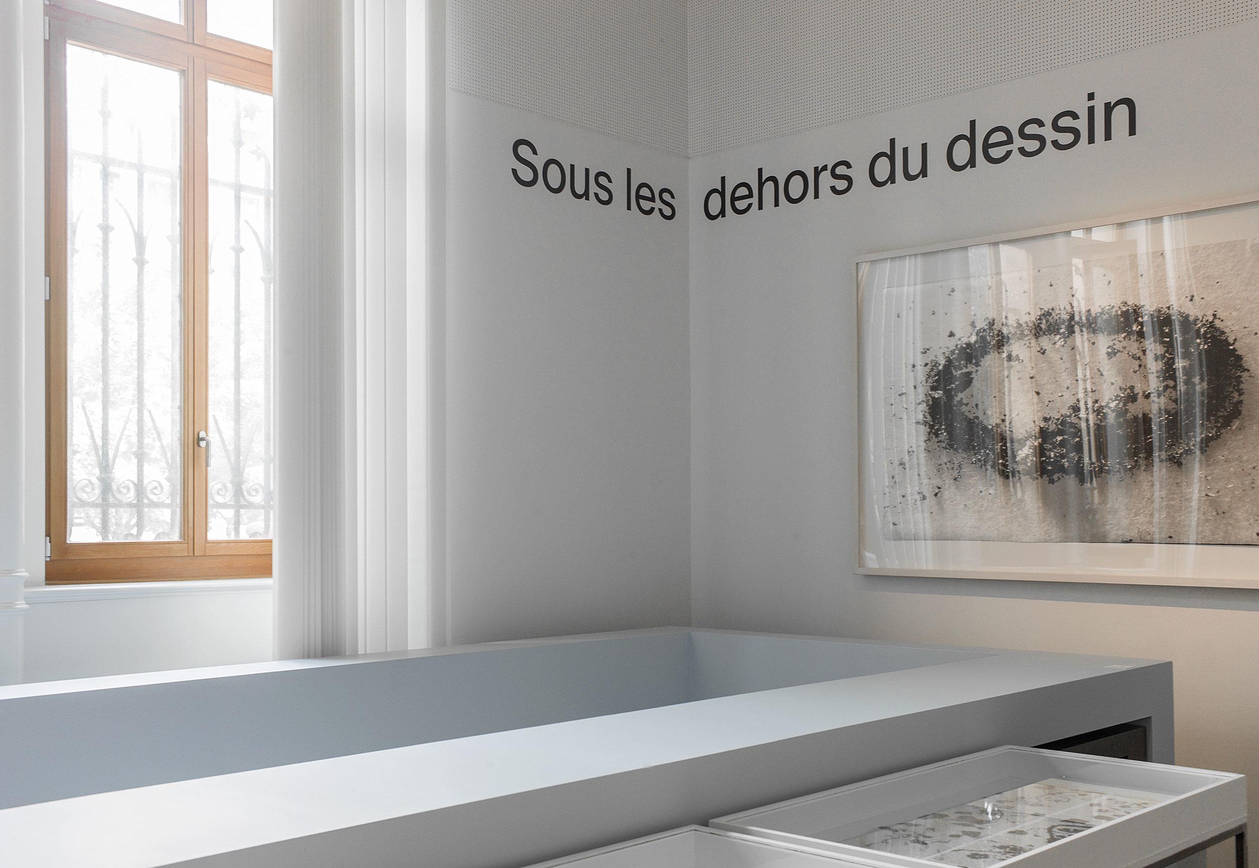 """Exposition """"Sous les dehors du dessin"""""""