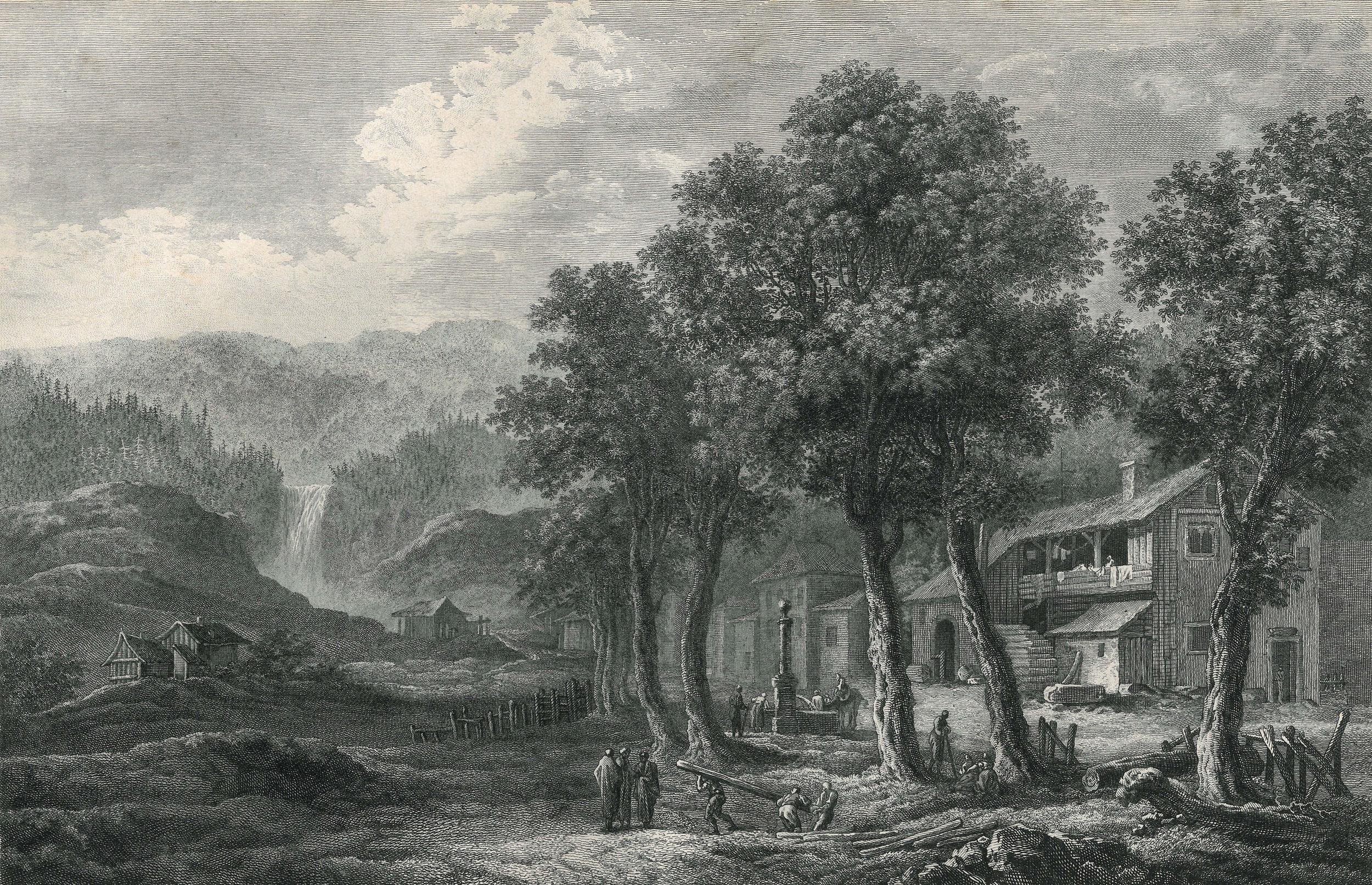 Maison de Jean-Jacques Rousseau à Môtiers