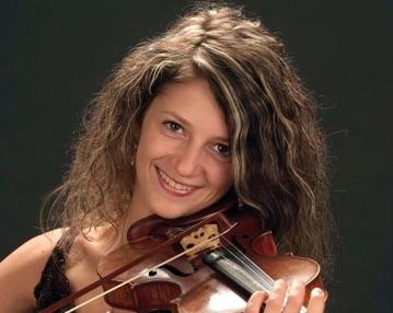 Aurélie Matthey au violon