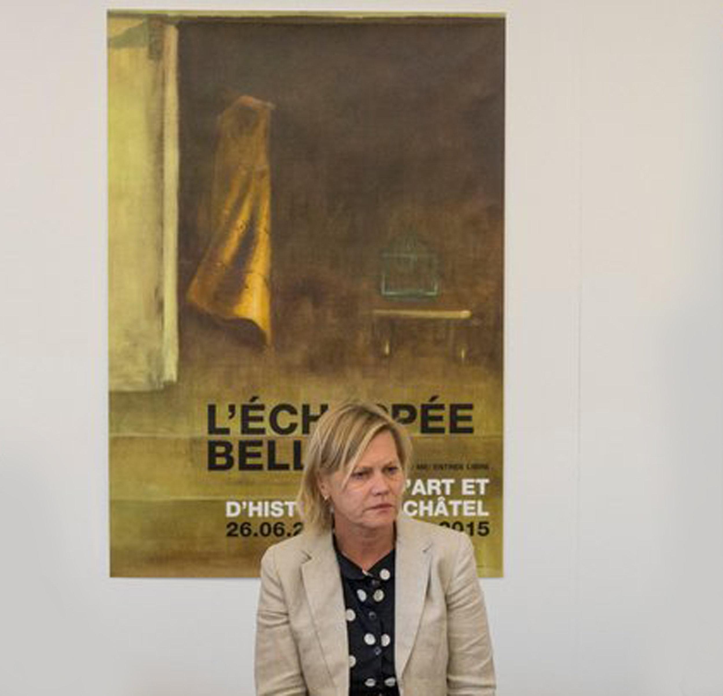 Véronique Ribordy, commissaire de l'exposition