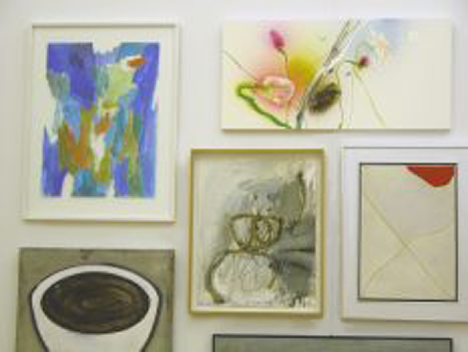 Quelques-uns des tableaux faisant partie de l'impressionnante collection de Francis Jeunet dont il a fait don au MahN