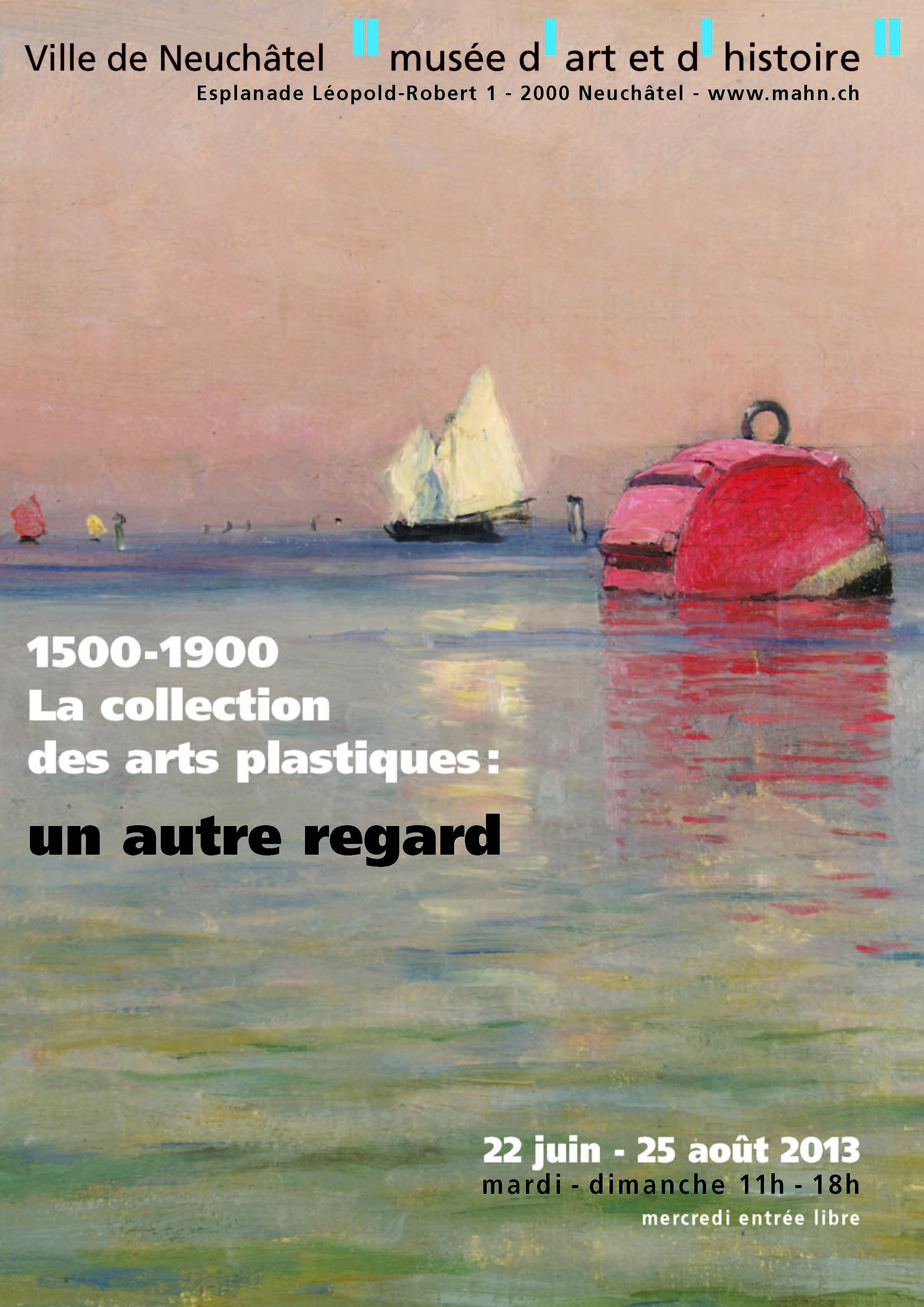 Affiche de l'exposition, qui s'est tenue dans les locaux de la Galerie C du 22 juin au 25 août 2013