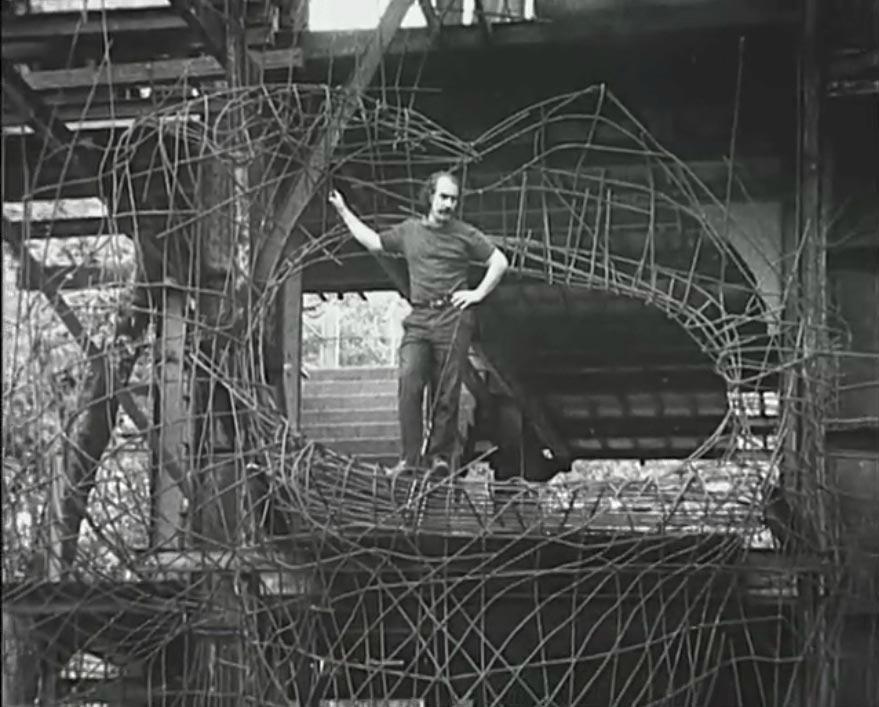 Construction du Cyclop en 1969