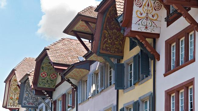 Les magnifiques toits de la vieille ville