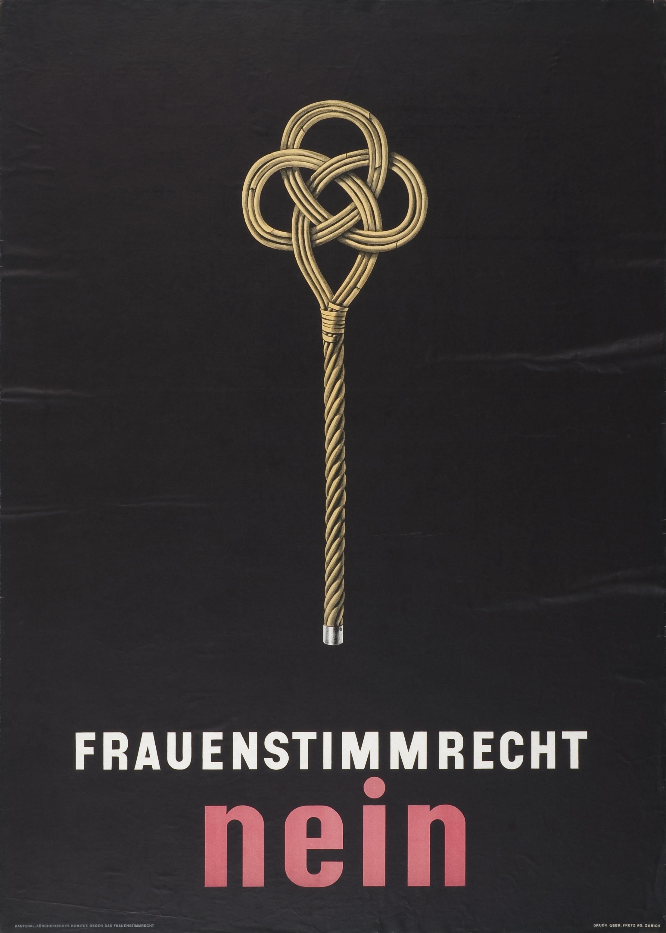Frauenstimmrecht nein (1946)