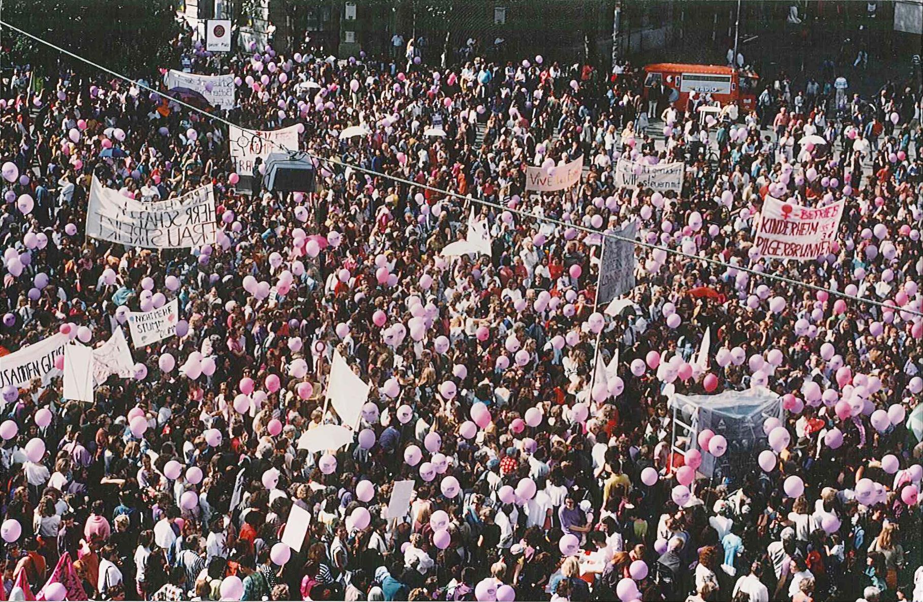 Grève nationale des femmes du 14 juin 1991