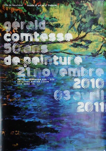 Affiche de l'exposition, du 21 novembre 2010 au 3 avril 2011