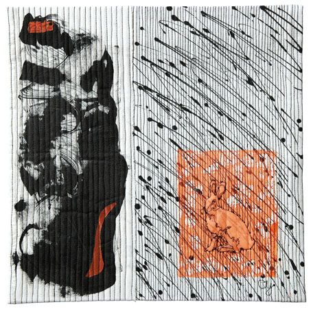 Hide and Seek , de Charlotte Yde (DK)m 2009, 35cm x 35 cm