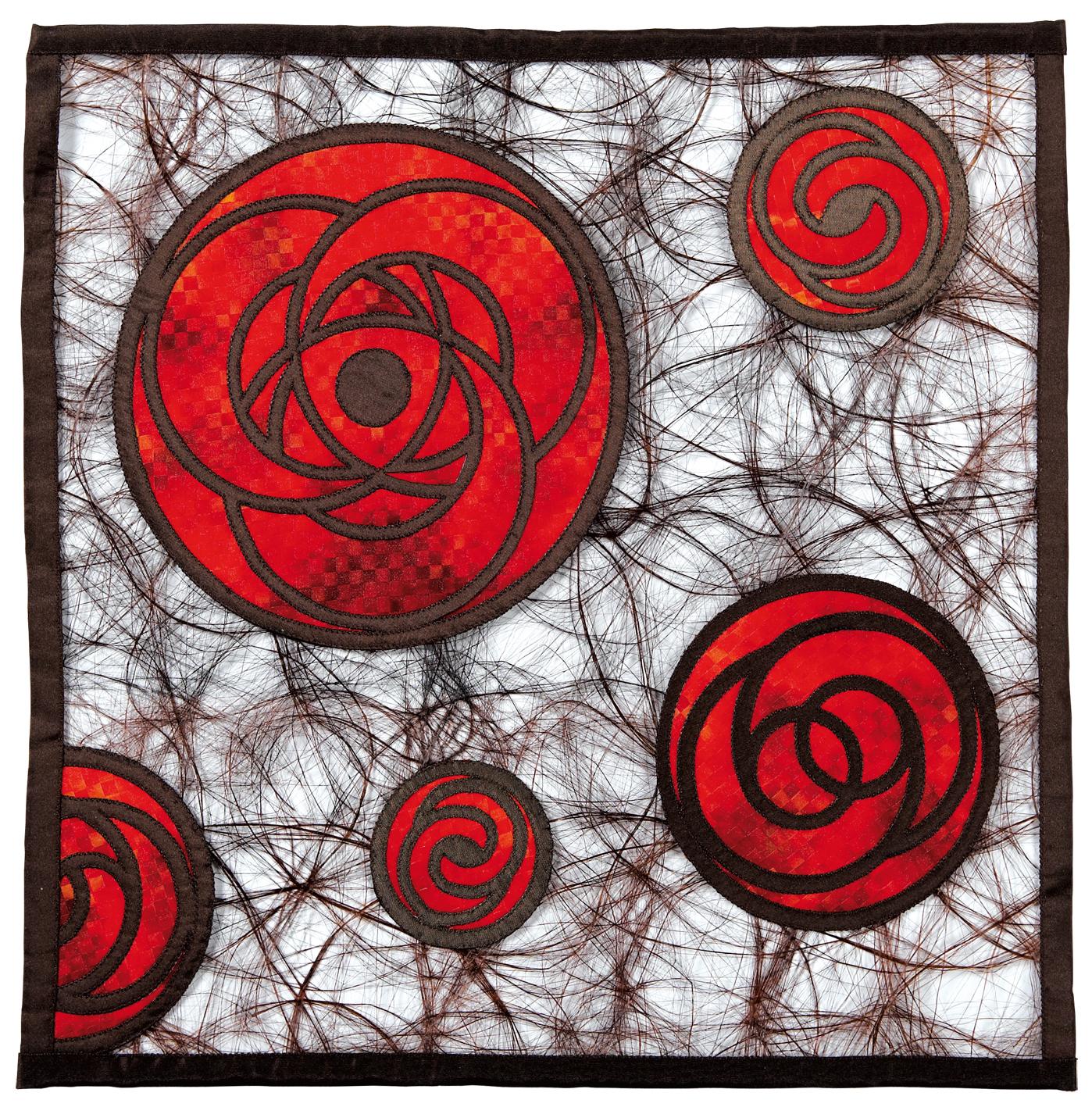 Crop Circles,  de Olga Prins-Lukowski (NL),2009, 35cm x 35cm