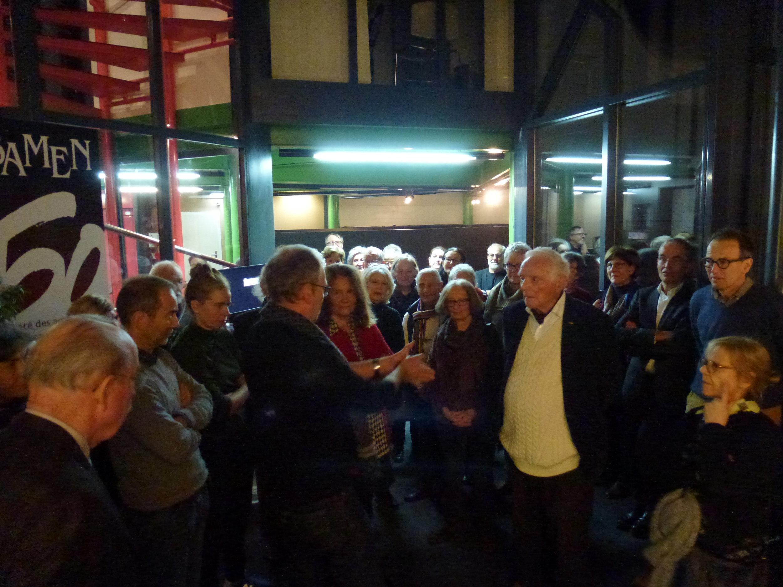 Marc-Olivier Gonseth, conservateur-directeur, souhaite la bienvenue aux membres d'ARTHIS