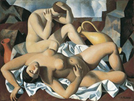 Danaïdes , 1928, Huile sur toile, 98 x 131 cm