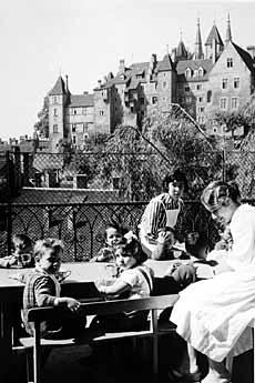 La crèche des Bercles a été la première crèche de Neuchâtel