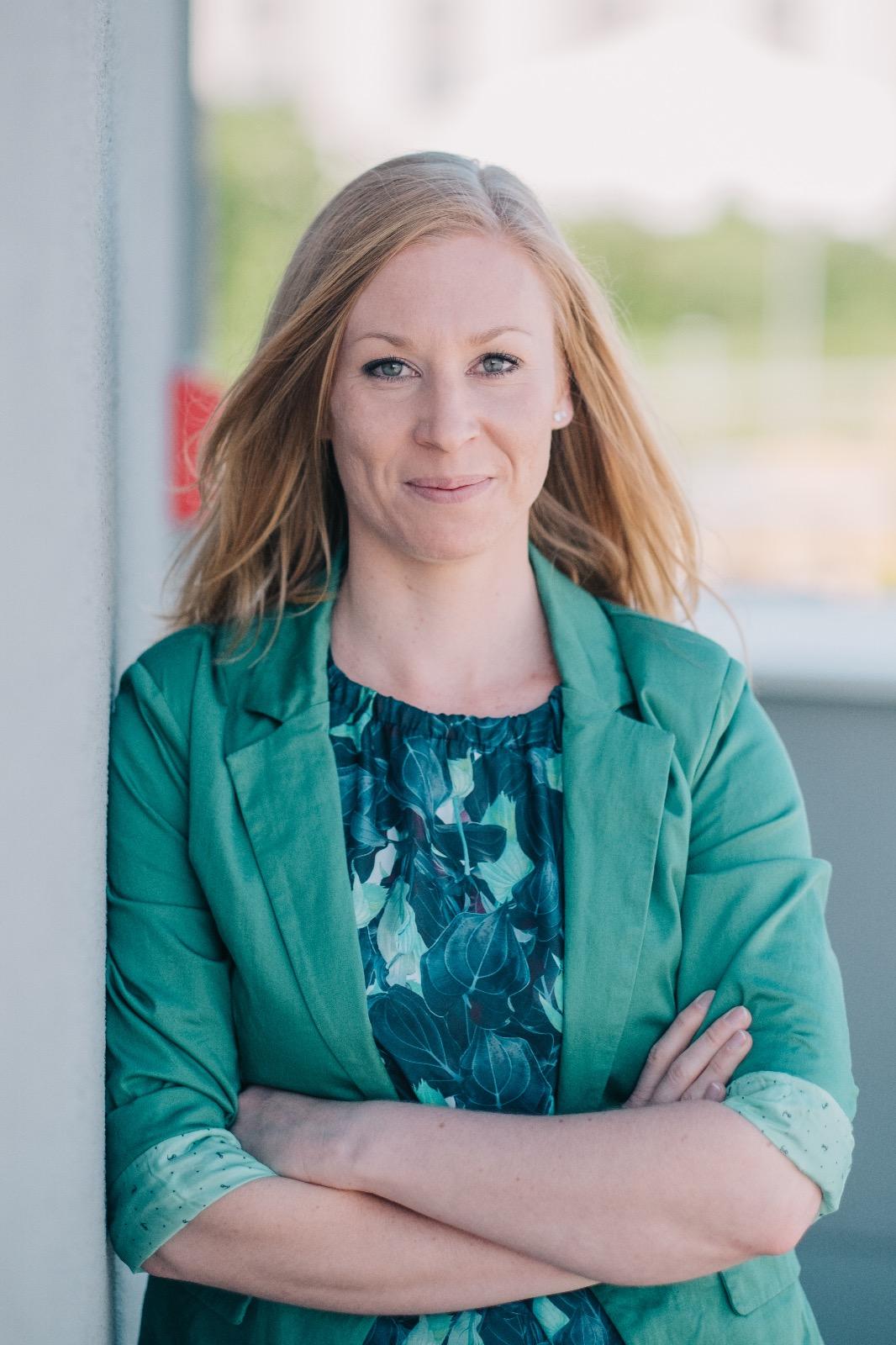 Diätologin Johanna Obendrauf