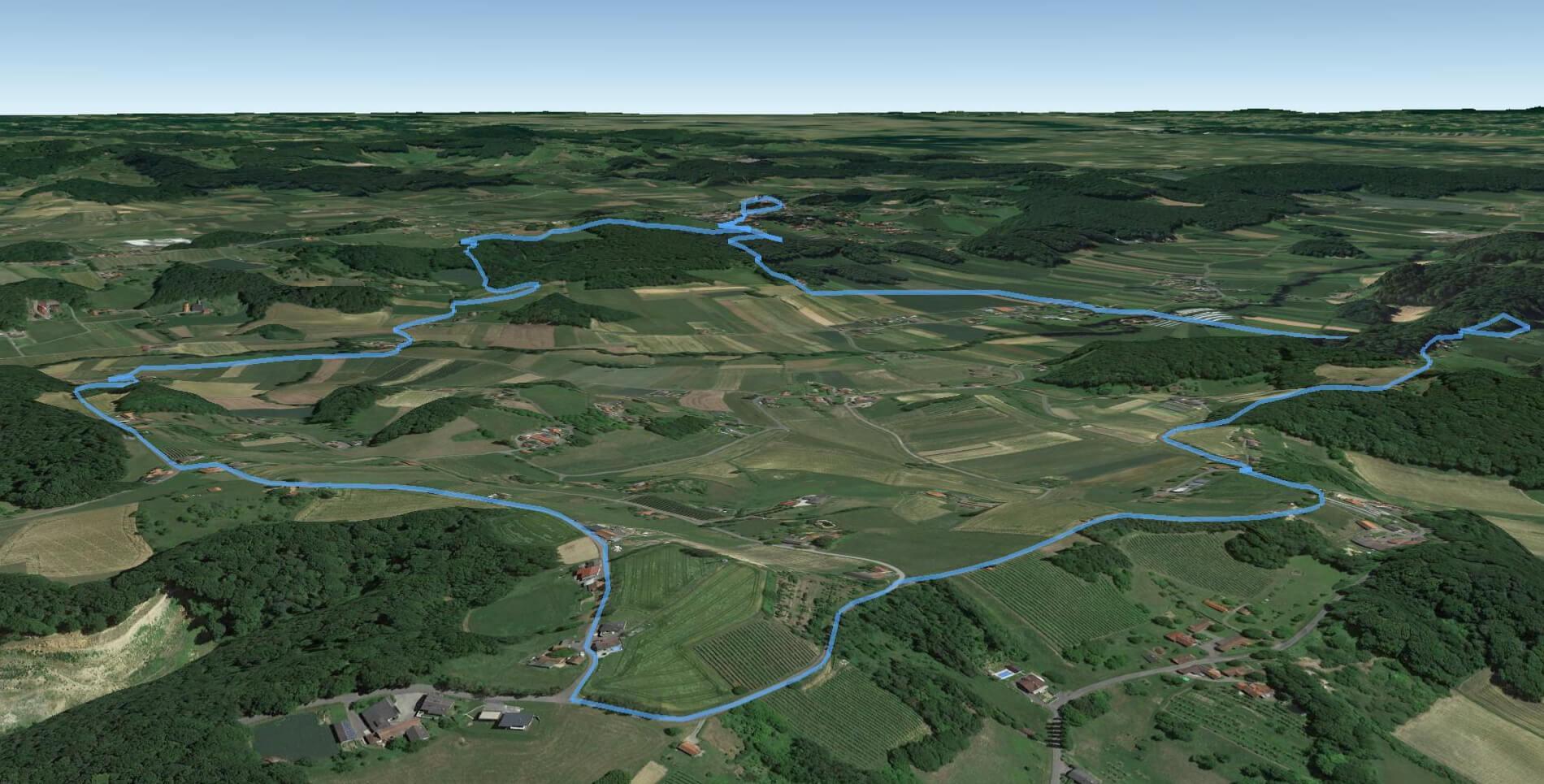 Lebenskraftweg 3D Ansicht 3