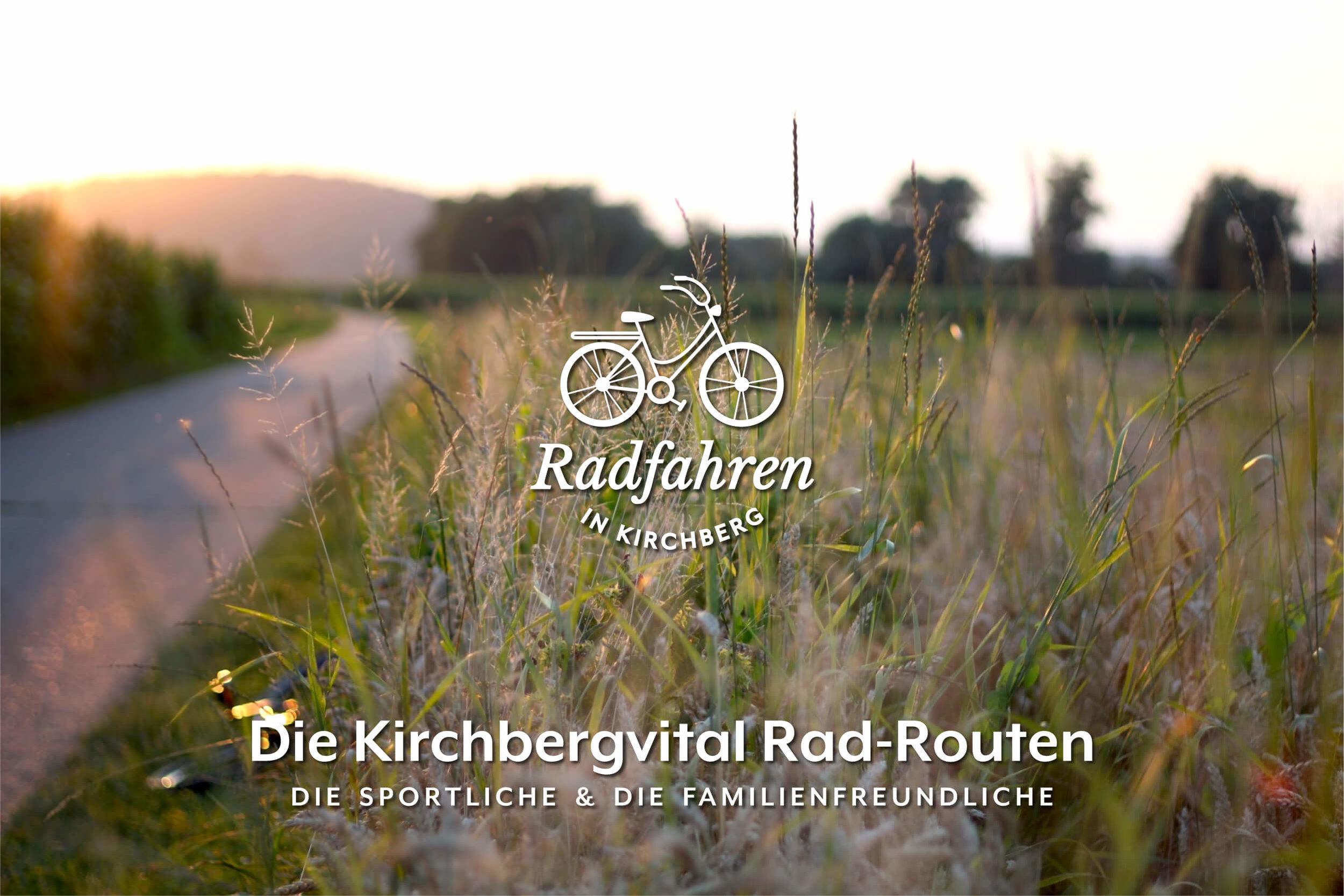 Die Kirchbervital Rad-Routen - Das alljährliche Vitalradeln von Kirchbergvital ist zwar ein perfekter Anlass, um unsere wunderschöne Gegend in Gesellschaft und auf zwei Rädern zu erkunden - aber das Jahr hat ja noch 364 andere Tage, an denen die beiden Vitalradeln-Radstrecken