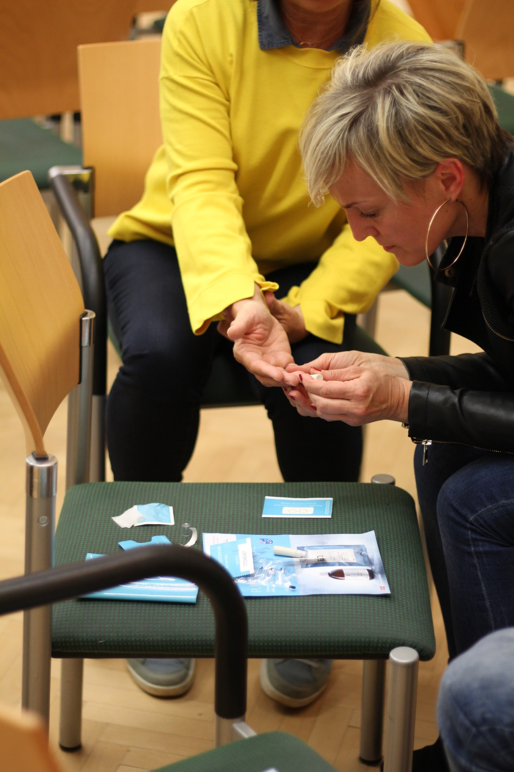 Omega-3 Bluttest im Gemeindezentrum