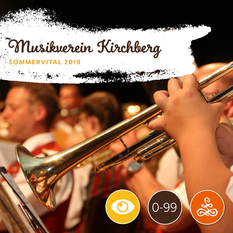 Alle Infos auf einen Blick: - Wann: 3.8.2019 | 9:00 - 12:00 UhrWo: Musikheim KirchbergMit: Musikverein KirchbergAltersgruppe: 0-99 JahreTeilnehmerzahl: unbegrenztUnkostenbeitrag: € 0