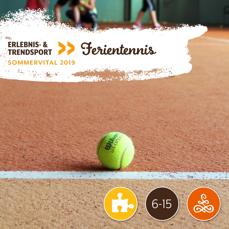 Alle Infos auf einen Blick: - Wann: 24.7.2019 | 10:00 - 12:00 UhrWo: Tenniszentrum GsölsMit: Tomislav TroppAltersgruppe: 6-15 JahreTeilnehmerzahl: 8Unkostenbeitrag: € 5 (für alle 3 Termine)