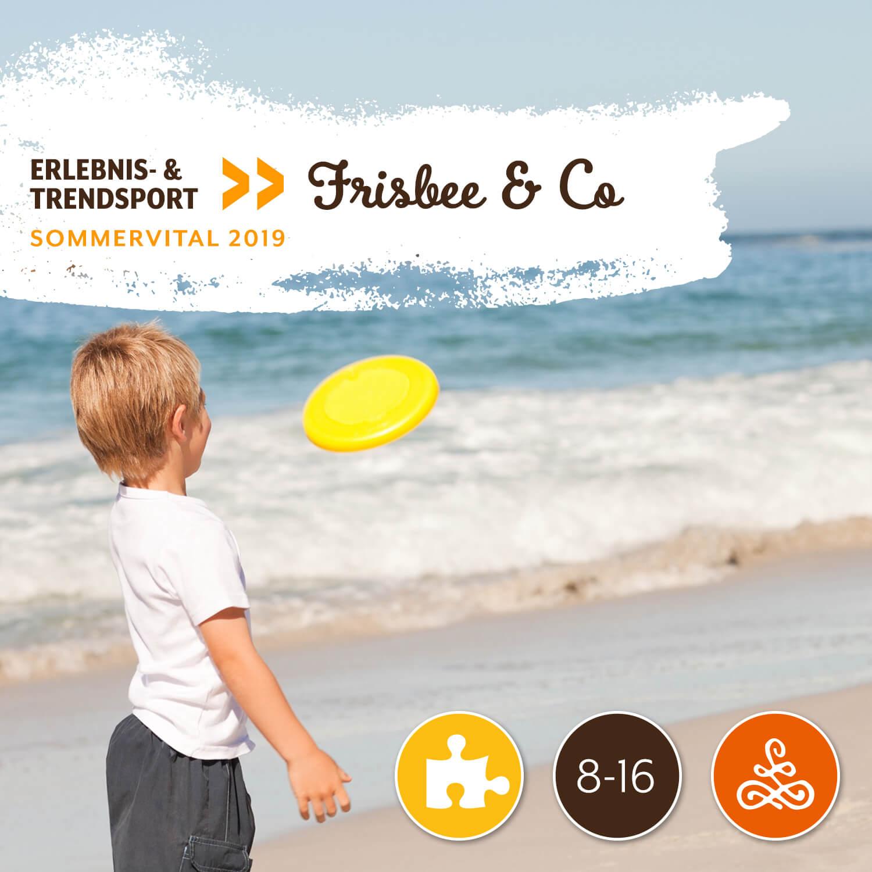 Erlebnis- & Trendsport: Frisbee & Co - Mit Sepp Mundigler | DSG-KirchbergMorgen von 09:00 – 11:30 Uhr