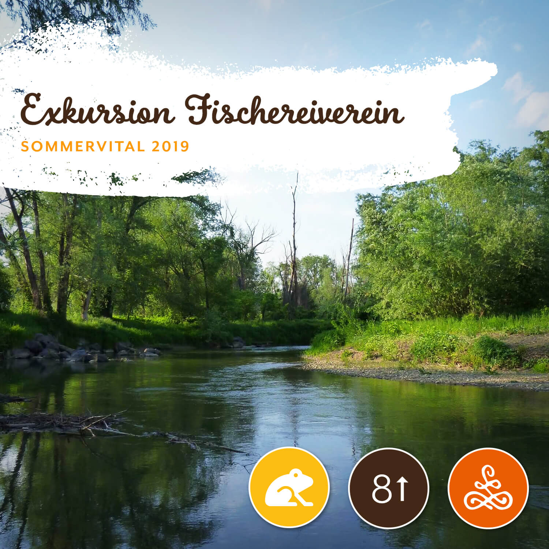 Exkursion Fischereiverein - Fischereiverein Kirchberg a.d. RaabAm Freitag von 13:00 - 17:00 Uhr