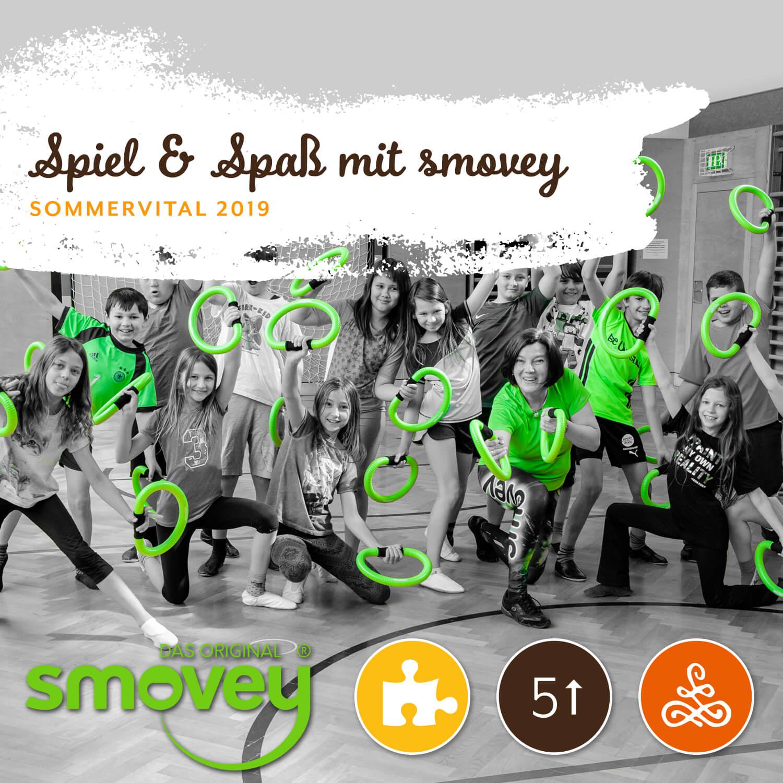 Spiel & Spaß mit SMOVEY - Mit Gerlinde Reicht & Silvia SchönbergerAm Dienstag von 14:00 - 17:00 Uhr