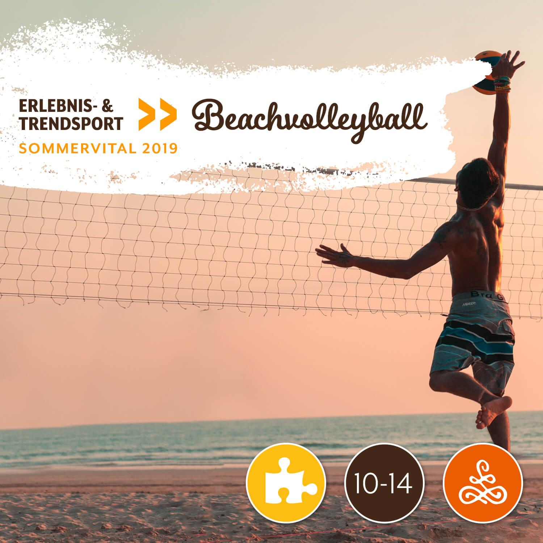 Trendsport: Beachvolleyball - Mit Katharina Windisch | DSG-KirchbergAm Mittwoch von 10:00 – 12:00 Uhr