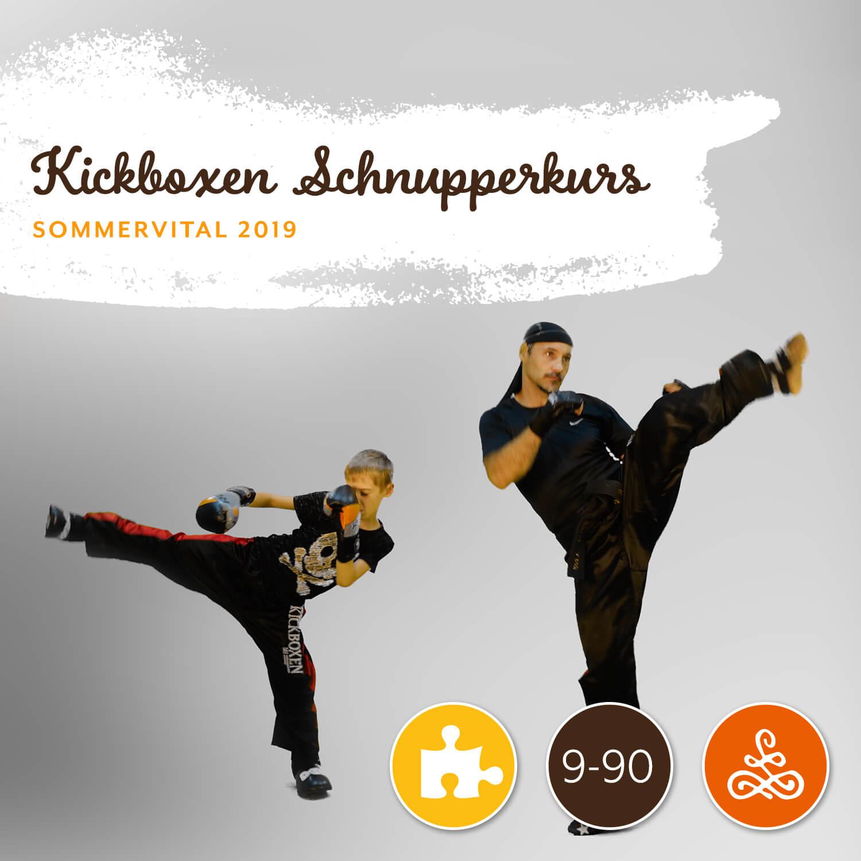 Kickboxen Schnupperkurs - Mit Europameister Günter TuscherAm Donnerstag von 10:00 – 12:00 Uhr