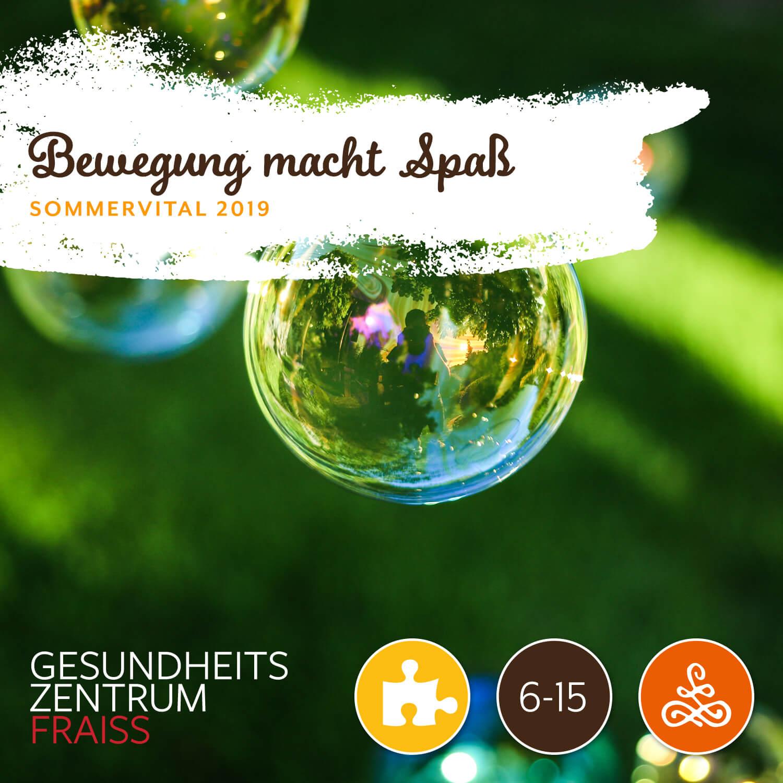Bewegung macht Spaß - Montags im GZM Fraiss, von 15:30 – 17:30 UhrEinstieg jederzeit möglich!!