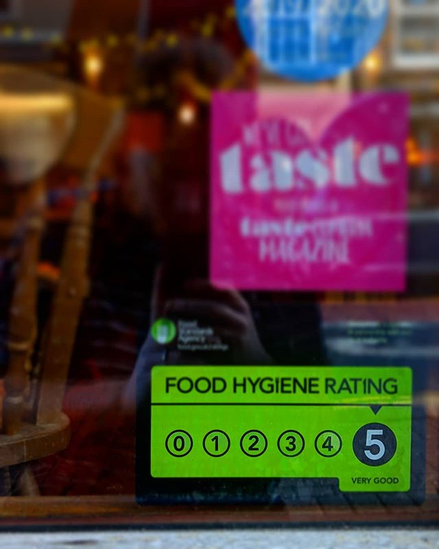 Early Christmas Present!  We are proud of our kitchen & bar staff for continuously upholding excellent food safety & hygiene.  #carlislecitycouncil