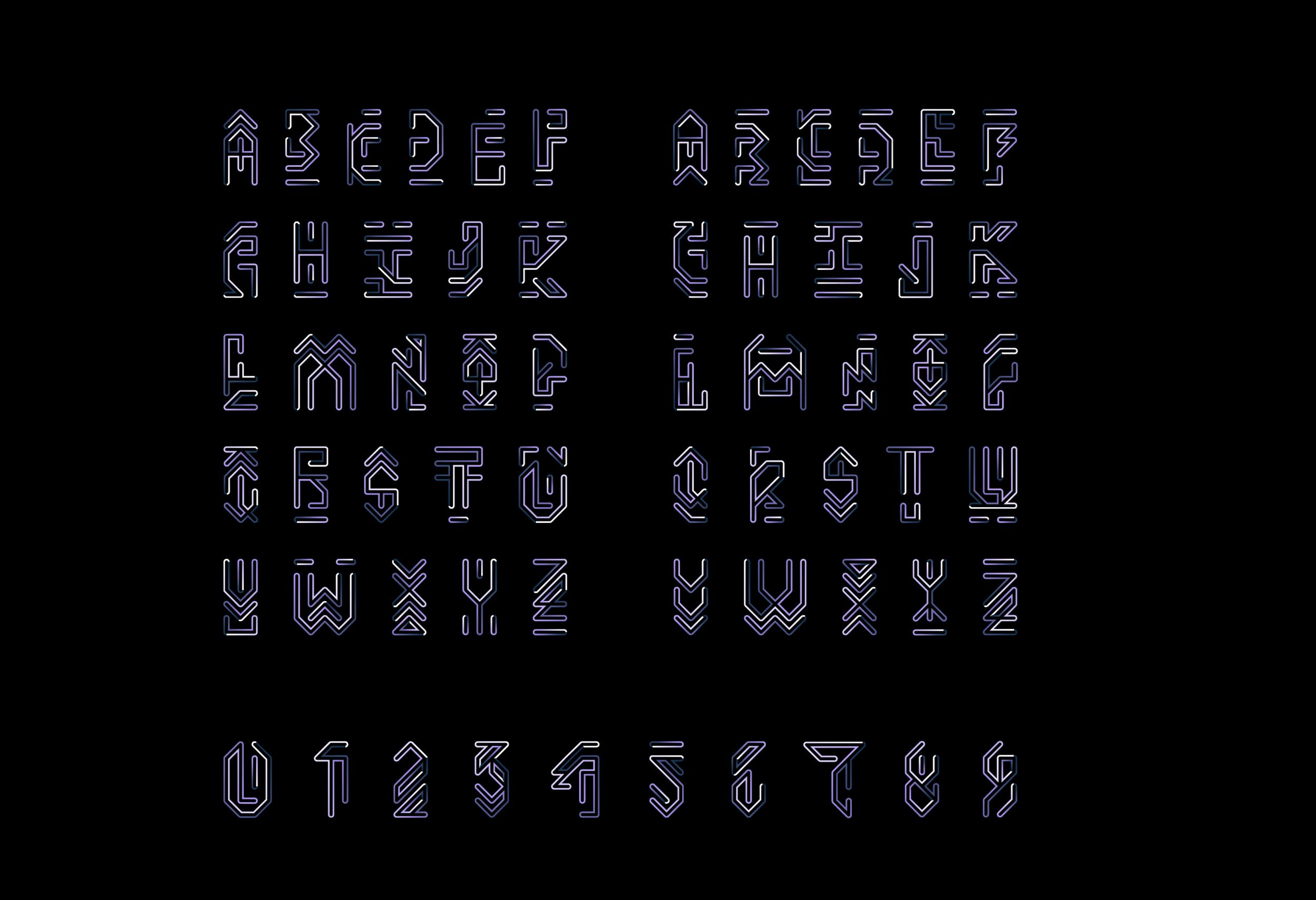 KYNDA Typeface WIP