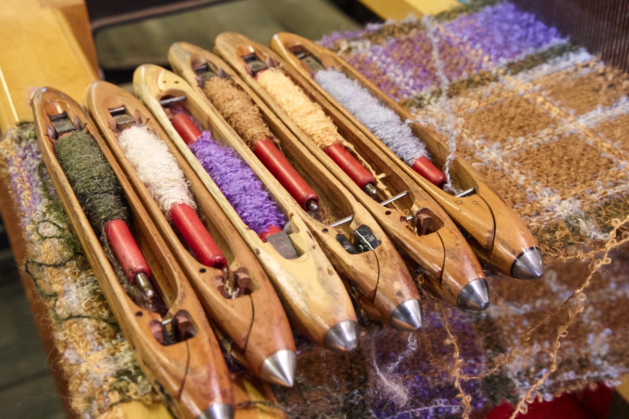 Donegal Yarns, Kerry & Cushendales Woollen Mills Hand Loom.jpg