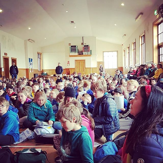 Project Baa Baa Primary School SHEEP Demo Day ❤️🐑 no.1 #projectbaabaa #galway2020 #galway #farming #sheep #education #G2020. |More info on PBB Sheep Demo Day - link in Bio|