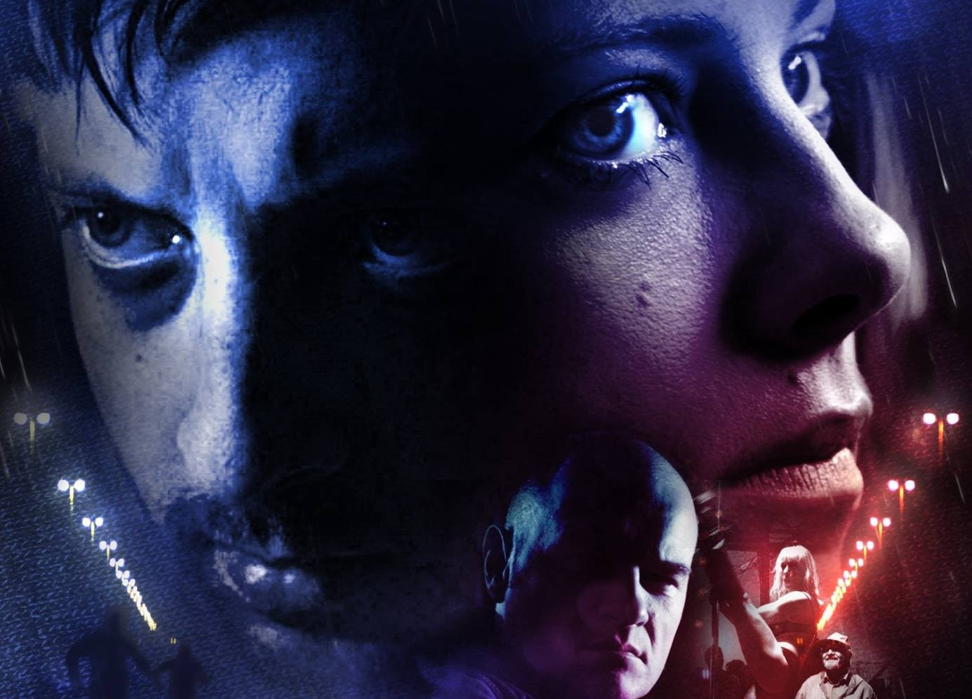 Blindrunners is a Polish-Dutch thriller about a couple lost in The Netherlands,offered a way out: to join a suicide game. It was made as part of Film School and directed by David-Jan Bronsgeest.