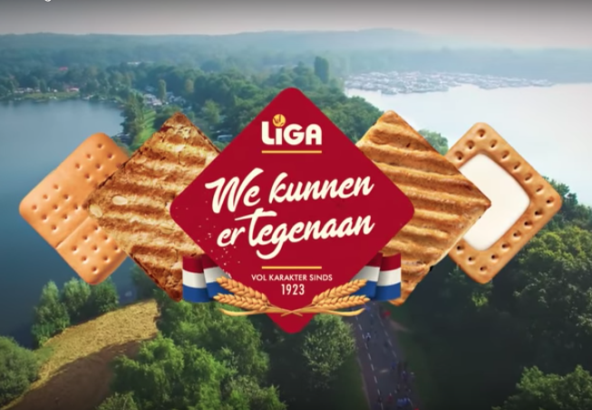 LiGA is a Dutch cookie, especially famous for it's Milk Break. It's part of the Mondelez Group (like Toblerone, Milka and Oreo).     The commercial was produced in collaboration with advertising agency ALFRED and production company CLIFF. It was directed by Jonathan Smit and shot by DOP Nanko Goeting.