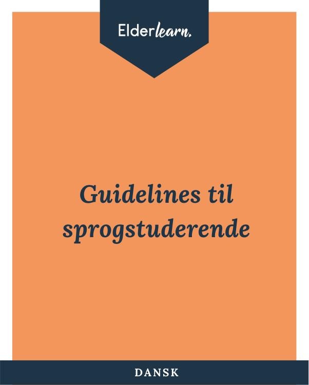Elderlearn Guidelines Dansk